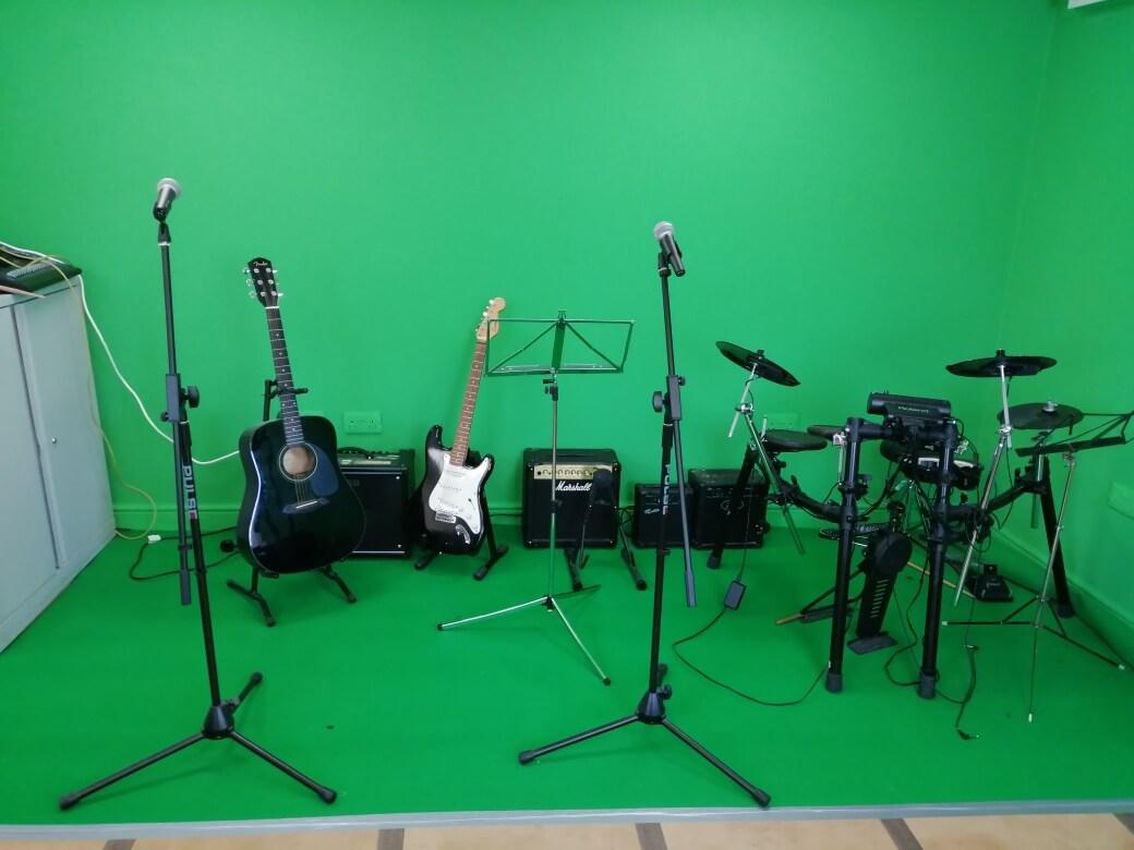 Blackpool Music School Recording Studio